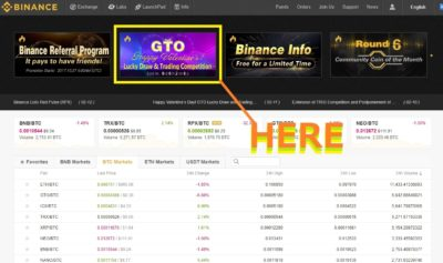 binance competition GTO