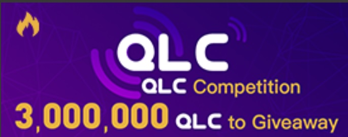 QLC Competition – 3,000,000 QLC to Giveaway!  2018/03/29 0:00 AM-2018/04/05 0:00 AM (UTC)