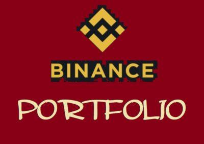PORTFOLIO, BINANCE coin